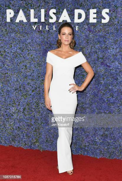 Kate Beckinsale attends Caruso's Palisades Village Opening Gala at Palisades Village on September 20 2018 in Pacific Palisades California