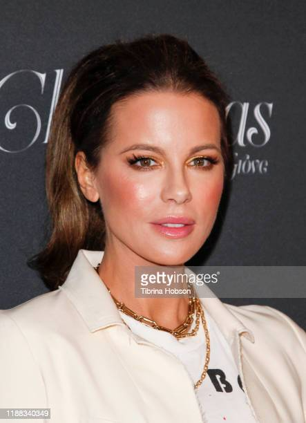 Kate Beckinsale attends Christmas at The Grove A Festive Tree Lighting at The Grove celebration on November 17 2019 in Los Angeles California