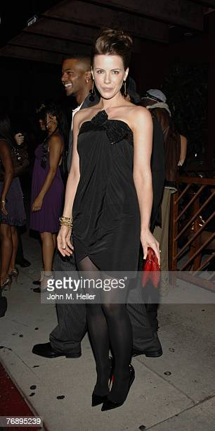 Kate Beckinsale attends Columbus Short's Birthday Party at Crustacean on September 19 2007 in Beverly Hills California