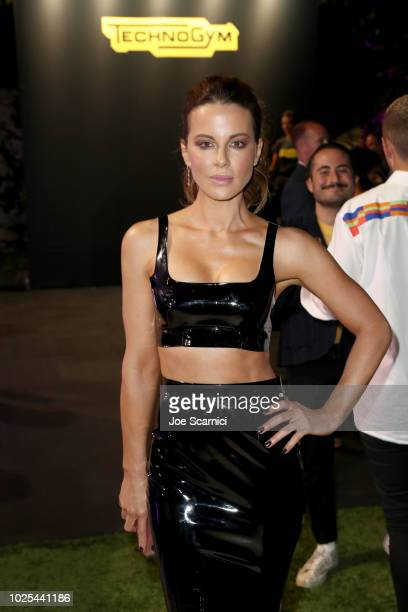 Kate Beckinsale attends Rolls Royce X Technogym at the home of Gunnar Peterson on August 30 2018 in Beverly Hills California