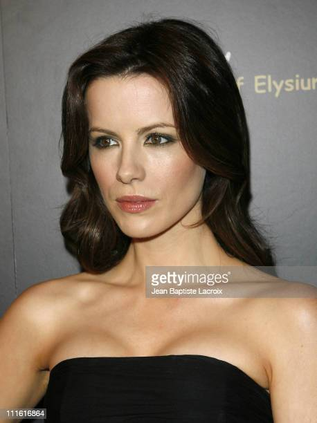 Kate Beckinsale attends the 1st Hollywood Domino Tournament hosted by De Grisogono at the Beverly Hills Hotel on February 21 2008 in Beverly Hills...