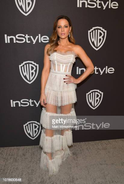 Kate Beckinsale attends the 2019 InStyle and Warner Bros 76th Annual Golden Globe Awards PostParty at The Beverly Hilton Hotel on January 6 2019 in...