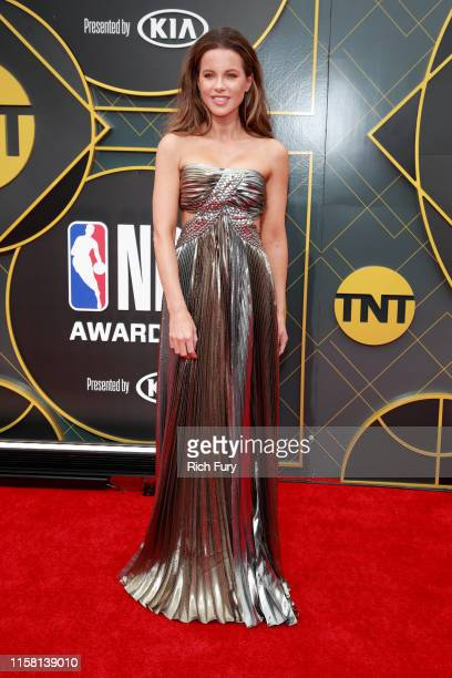 Kate Beckinsale attends the 2019 NBA Awards at Barker Hangar on June 24 2019 in Santa Monica California