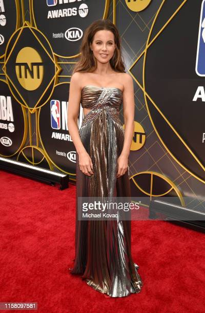 Kate Beckinsale attends the 2019 NBA Awards presented by Kia on TNT at Barker Hangar on June 24 2019 in Santa Monica California