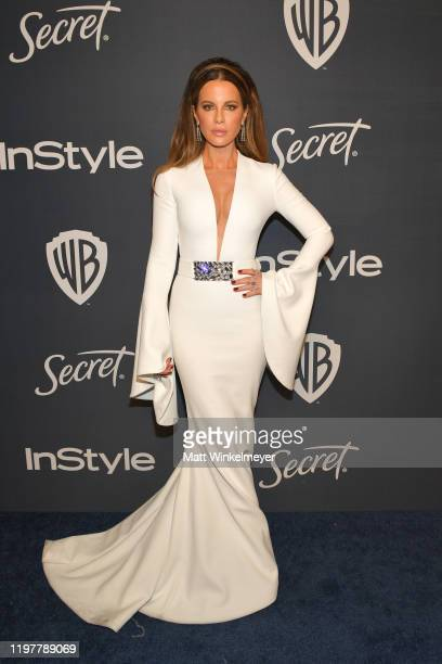 Kate Beckinsale attends The 2020 InStyle And Warner Bros 77th Annual Golden Globe Awards PostParty at The Beverly Hilton Hotel on January 05 2020 in...