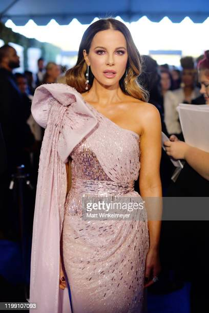 Kate Beckinsale attends the 25th Annual Critics' Choice Awards at Barker Hangar on January 12, 2020 in Santa Monica, California.