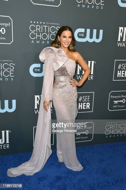 Kate Beckinsale attends the 25th Annual Critics' Choice Awards held at Barker Hangar on January 12 2020 in Santa Monica California
