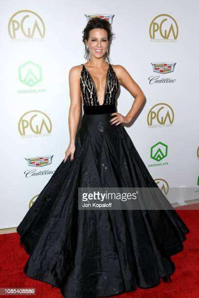 Kate Beckinsale attends the 30th annual Producers Guild Awards at The Beverly Hilton Hotel on January 19 2019 in Beverly Hills California