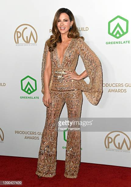 Kate Beckinsale attends the 31st Annual Producers Guild Awards at Hollywood Palladium on January 18 2020 in Los Angeles California