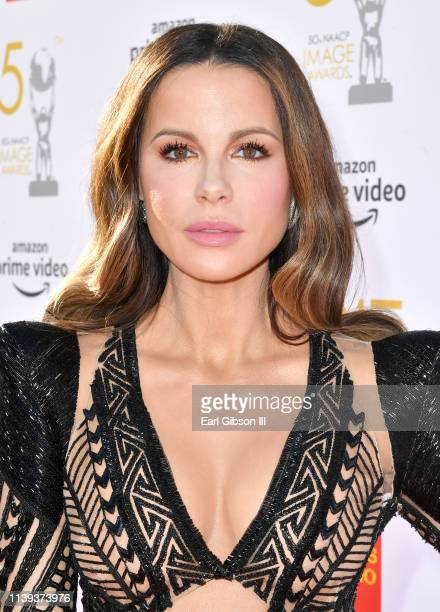 Kate Beckinsale attends the 50th NAACP Image Awards at Dolby Theatre on March 30 2019 in Hollywood California