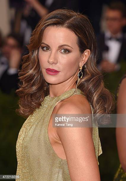 Kate Beckinsale attends the 'China Through The Looking Glass' Costume Institute Benefit Gala at Metropolitan Museum of Art on May 4 2015 in New York...