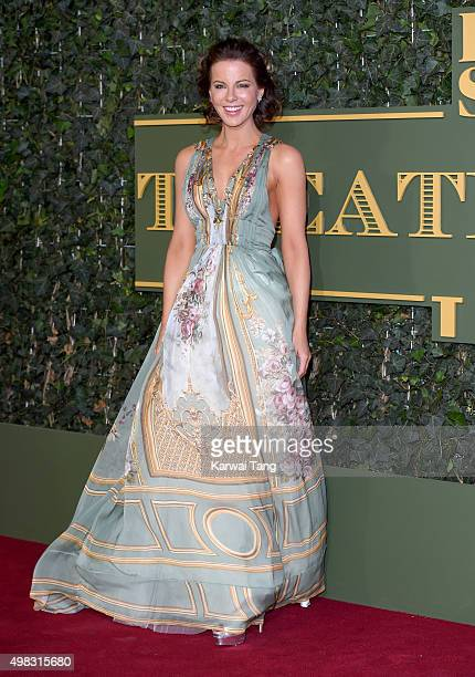 Kate Beckinsale attends the Evening Standard Theatre Awards at The Old Vic Theatre on November 22 2015 in London England