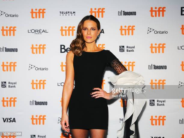 Kate Beckinsale attends the 'Farming' premiere during 2018 Toronto International Film Festival at Scotiabank Theatre on September 8 2018 in Toronto...