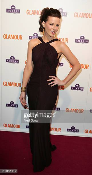 Kate Beckinsale attends the Glamour Women of the Year Awards 2008 on June 3 2008 at Berkeley Square Gardens in London