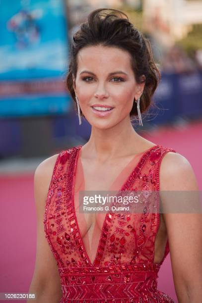 Kate Beckinsale attends the Love Friendship Premiere during the 44th Deauville US Film Festival on September 2 2018 in Deauville France