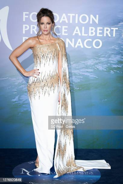 Kate Beckinsale attends the Monte-Carlo Gala For Planetary Health on September 24, 2020 in Monte-Carlo, Monaco.