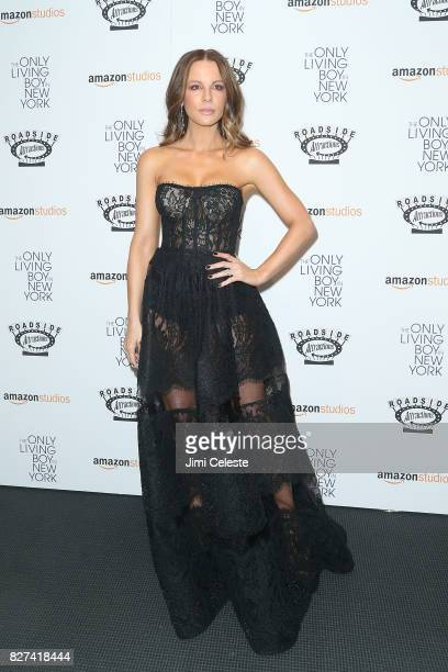 Kate Beckinsale attends the New York premiere of 'The Only Living Boy in New York' at The Museum of Modern Art on August 7 2017 in New York City