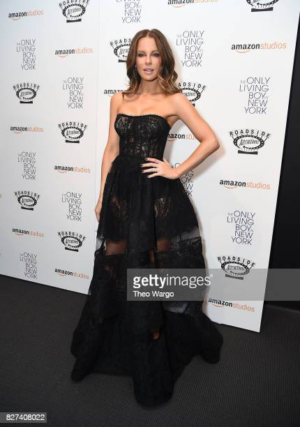 Kate Beckinsale attends 'The Only Living Boy In New York' New York Premiere at The Museum of Modern Art on August 7 2017 in New York City