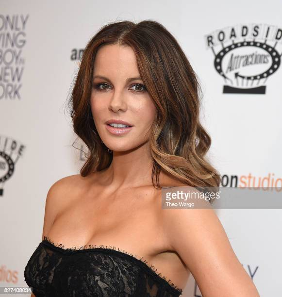 Kate Beckinsale attends The Only Living Boy In New York New York Premiere at The Museum of Modern Art on August 7 2017 in New York City