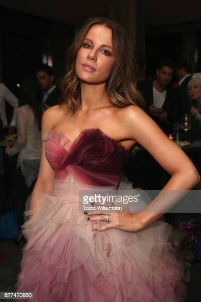 Kate Beckinsale attends The Only Living Boy In New York Premiere after party at The Rainbow Room on August 7 2017 in New York City