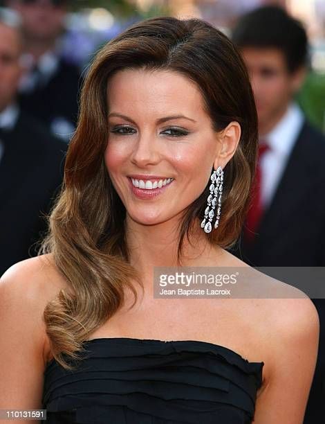 Kate Beckinsale attends the Palme d'Or Closing Ceremony held at the Palais des Festivals during the 63rd Annual International Cannes Film Festival on...