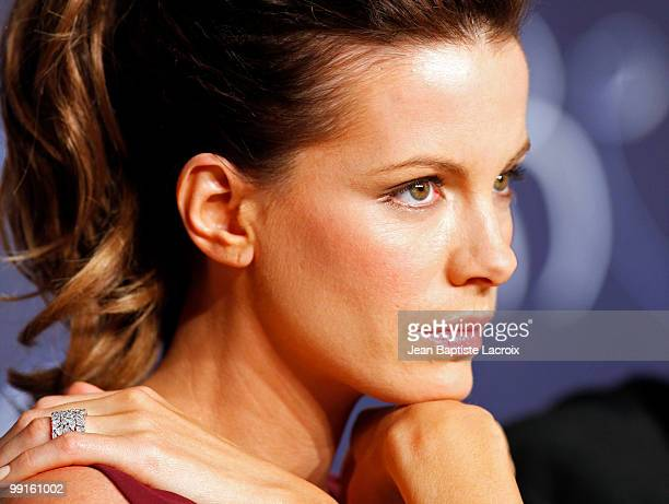 Kate Beckinsale attends the 'The Jury' Press Conference at the Palais des Festivals during the 63rd Annual Cannes Film Festival on May 12 2010 in...