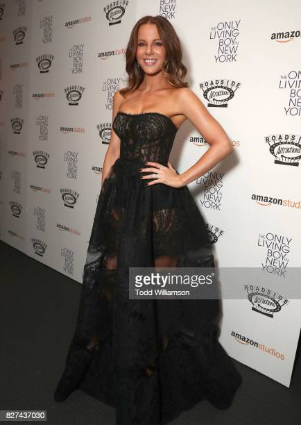 Kate Beckinsale attends the The Only Living Boy In New York Premiere At the Museum Of Modern Art at Museum of Modern Art on August 7 2017 in New York...
