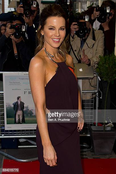 Kate Beckinsale attends the UK premiere 'Love And Friendship' at The Curzon Mayfair on May 24 2016 in London England