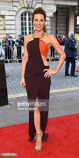Kate Beckinsale attends the UK Premiere of 'Love And Friendship' at The Curzon Mayfair on May 24 2016 in London England