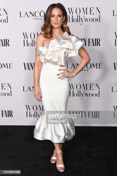 Kate Beckinsale attends the Vanity Fair and Lancôme Women in Hollywood celebration at Soho House on February 06 2020 in West Hollywood California