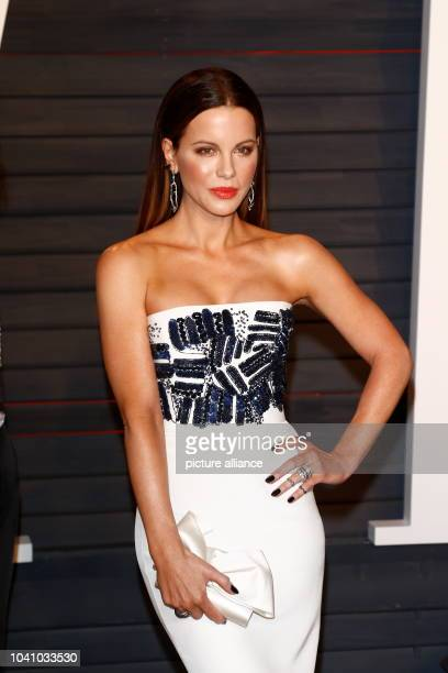 Kate Beckinsale attends the Vanity Fair Oscar Party at Wallis Annenberg Center for the Performing Arts in Beverly Hills Los Angeles USA 28 February...
