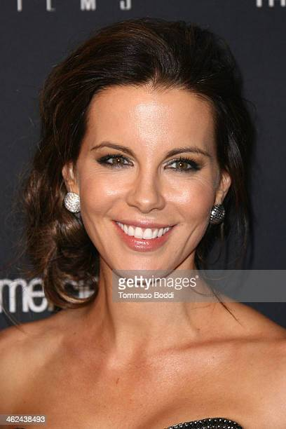 Kate Beckinsale attends the Weinstein Company's 2014 Golden Globe Awards after party on January 12 2014 in Beverly Hills California
