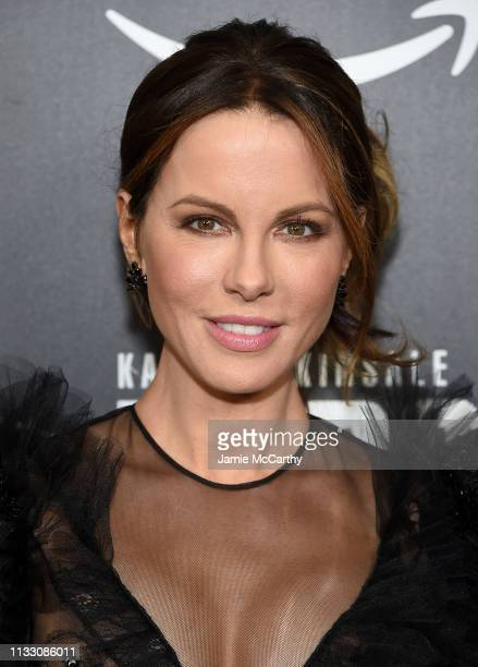 Kate Beckinsale attends The Widow New York Premiere at Crosby Street Hotel on March 01 2019 in New York City