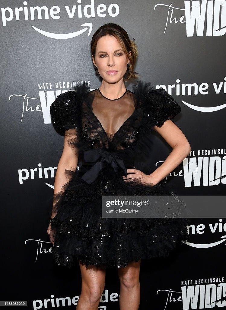 """""The Widow"" New York Premiere : News Photo"