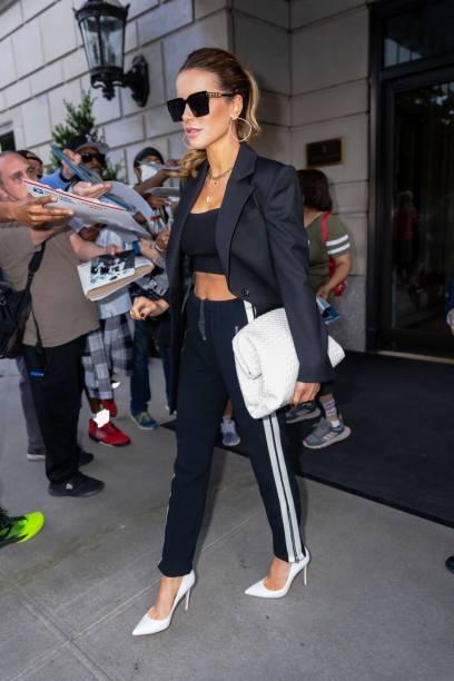 NY: Celebrity Sightings In New York City - July 23, 2021