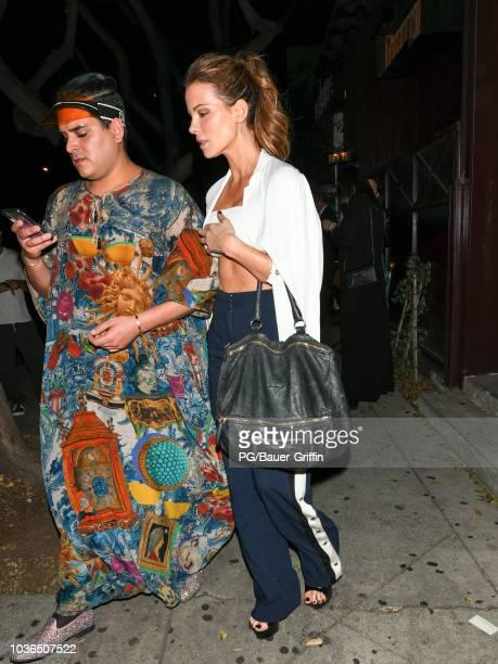 Kate Beckinsale is seen on September 20 2018 in Los Angeles California