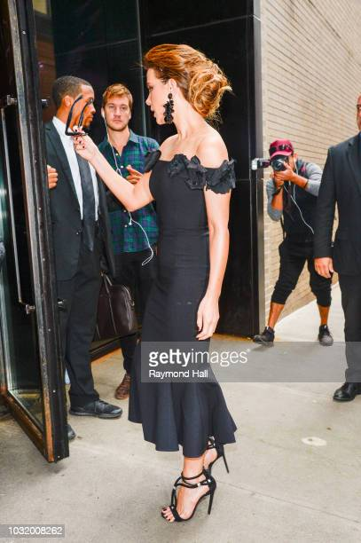 Kate Beckinsale is seen walking in soho on September 11 2018 in New York City