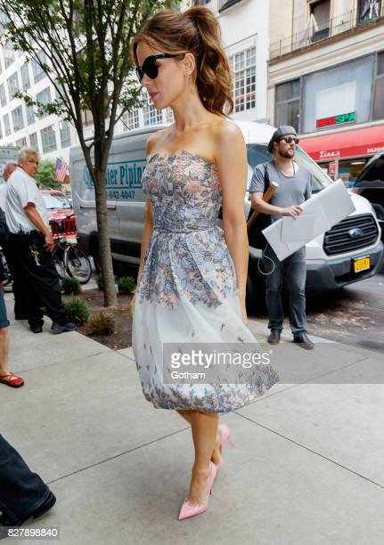 Kate Beckinsale on August 8 2017 in New York City