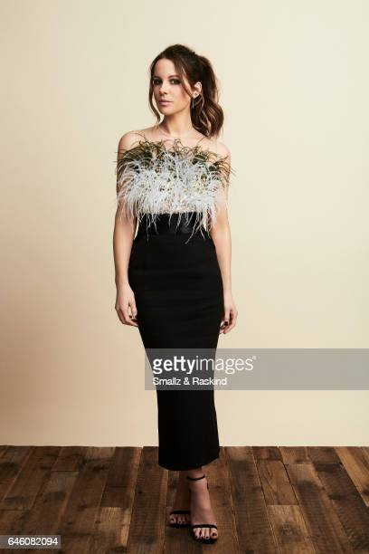 Kate Beckinsale poses for portrait session at the 2017 Film Independent Spirit Awards on February 25, 2017 in Santa Monica, California.