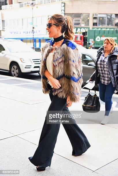 Kate Beckinsale seen out and about in Tribeca on January 4 2017 in New York City