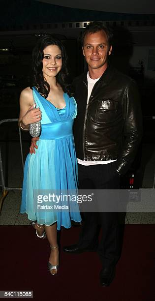 Kate Bell and Jonathan Hughes at the 'Macbeth' film premiere Sydney 6 September 2006 SHD Picture by JANIE BARRETT