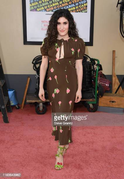"""Kate Berlant attends the Sony Pictures' """"Once Upon A Time...In Hollywood"""" Los Angeles Premiere on July 22, 2019 in Hollywood, California."""