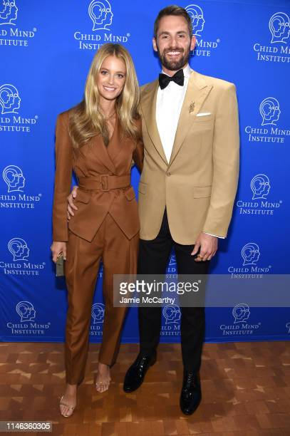 Kate Bock and honoree Kevin Love attend the Child Mind Institute's 2019 Change Maker Awards at Carnegie Hall on May 01 2019 in New York City