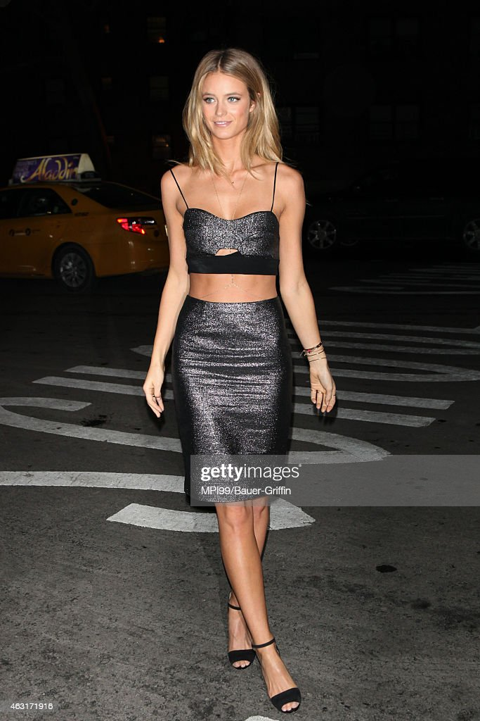 Celebrity Sightings In New York - February 10, 2015 : News Photo