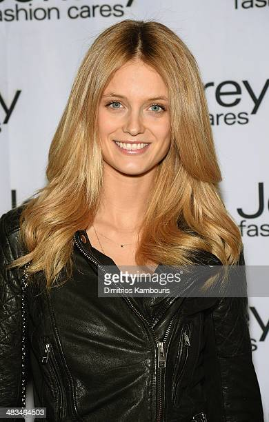 Kate Bock attends Jeffrey Fashion Cares 2014 event at the 69th Regiment Armory on April 8 2014 in New York City