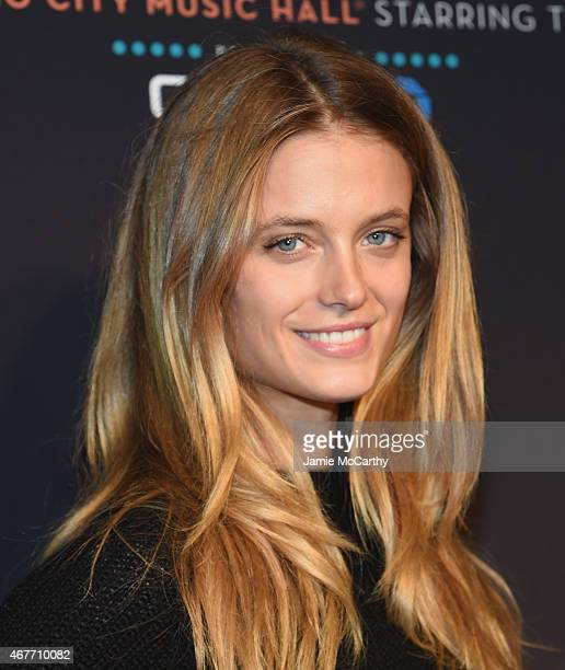 Kate Bock attends the 2015 New York Spring Spectacular at Radio City Music Hall on March 26 2015 in New York City