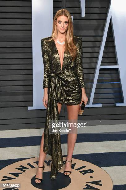 Kate Bock attends the 2018 Vanity Fair Oscar Party hosted by Radhika Jones at Wallis Annenberg Center for the Performing Arts on March 4 2018 in...