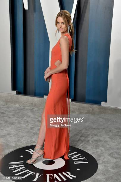 Kate Bock attends the 2020 Vanity Fair Oscar Party hosted by Radhika Jones at Wallis Annenberg Center for the Performing Arts on February 09 2020 in...