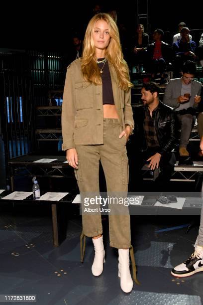 Kate Bock attends the Rag Bone front row during New York Fashion Week The Shows on September 06 2019 in New York City