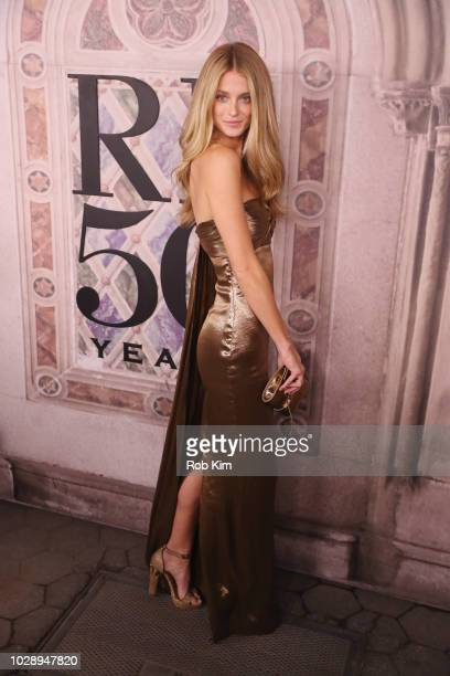 Kate Bock attends the Ralph Lauren fashion show during New York Fashion Week at Bethesda Terrace on September 7 2018 in New York City